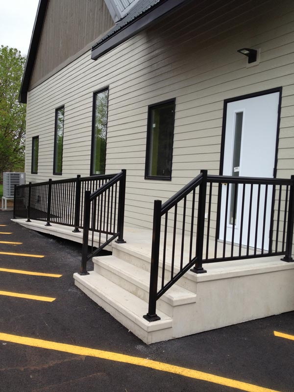 Concrete steps a p products moncton and